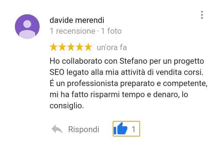 Recensioni-positive-MyBusiness-Stefano-Diversi-SEM-Specialist-Davide-Merendi