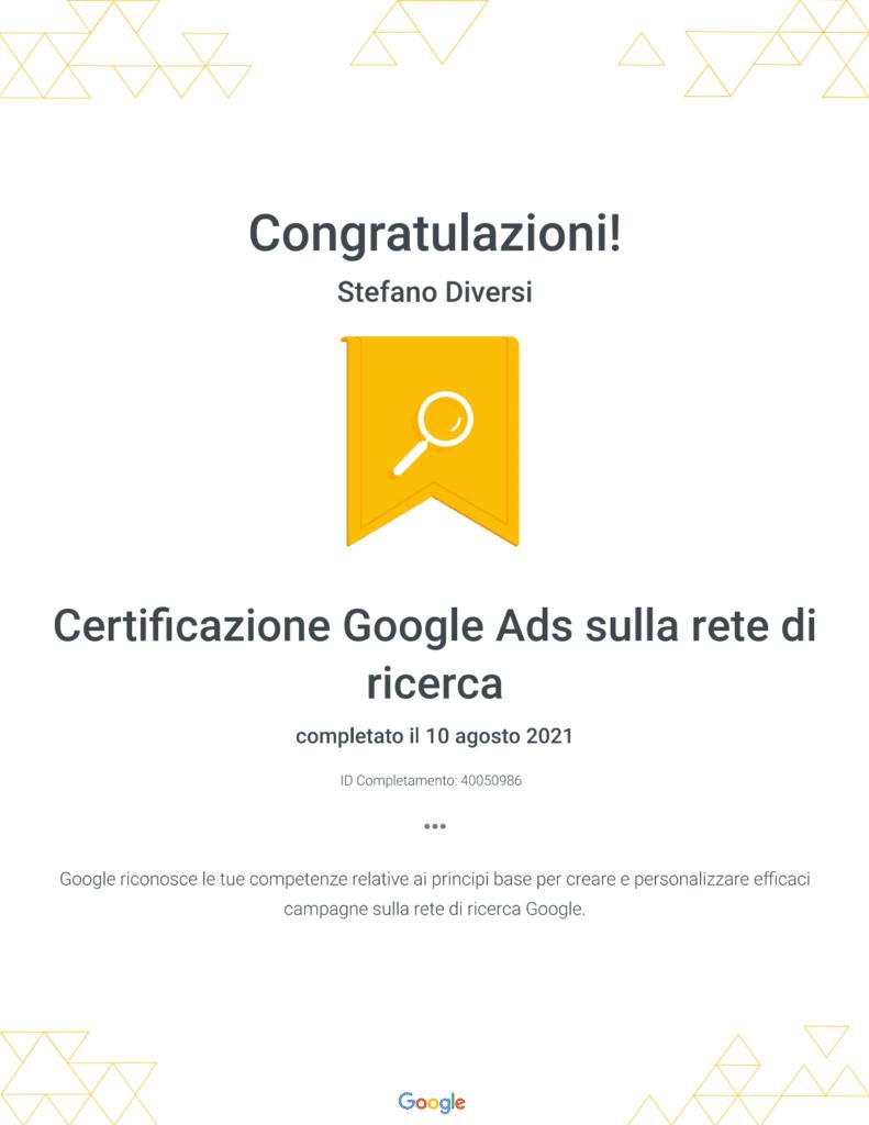 certificazione-google-ads-rete-di-ricerca-2021
