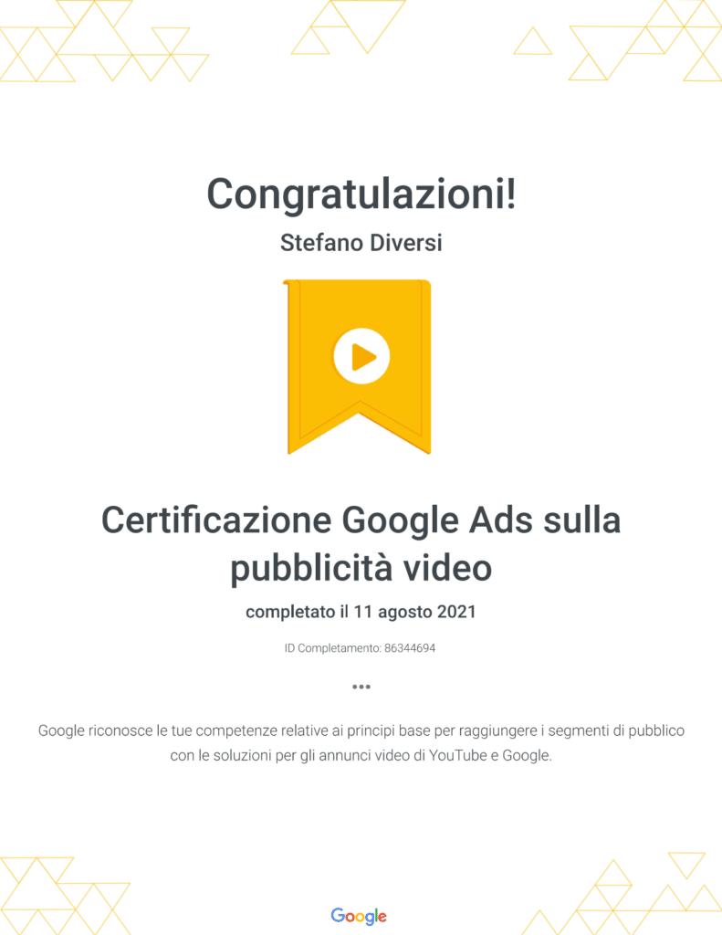 certificazione-google-ads-video-youtube-ads-2021